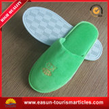 Grey Hotel Slippers White Plush Slippers Disposable Slippers Airplane
