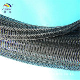 Self - Closing UL Pet Cable Sleeving Polyester Braided Expandable Sleeving