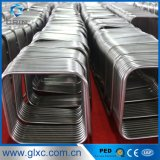 Manufacturer Square 304 Stainless Steel Coiled Pipe for Tank