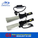 Fanless H4 6500k High Low Beam Automobiles LED Head Lamp 12V-24V LED Car Headlight Kit 30W 3200lm LED Bulb Conversion Kit