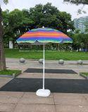 UV Protection Rainbow Beach Umbrella with Affordable Price (OCT-BU19008)