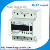 Mini Type Single Phase Electronic Multi-Rate DIN-Rail Active Energy Meter (DDSF256 Type)