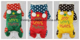 Christams Suit Dog Pet Winter Jumpsuit Clothes