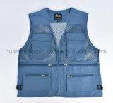 OEM Logo Cotton Photographer Hunting Shoot Fishing Vest