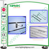 Double Wire Metal Display Hook for MDF Slatwall
