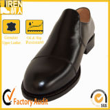Full Grain Leather &Leather Sole Black Office Shoes
