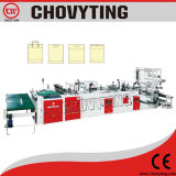 Dual Servo Motor Driven Shopping Plastic Bag Making Machine (CW-800ZD)