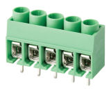 Best Selling PCB Screw Terminal Block with 10.0/5.0mm Pitch (WJ167)
