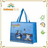 Laminated Recyclable Advertising Logo PP Printing Grocery Tote Shopping Bag