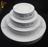 SMD 6W 12W 18W Round and Square LED Ceiling Frame Panel Light with LED Panels Indoor