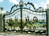 Wrought Iron Entrance Gate for Home