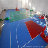 Plastic Surface Flooring for Basketball Court Used