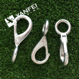 Zinc Plated Snap Hook with Fixed Eye