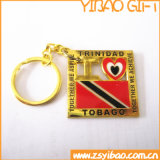 Custom Gold Metal Keychain for Promotion Gifts (YB-MK-05)