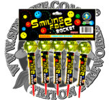 Smile Face Rocket Fireworks Factory Direct Price