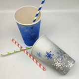 Disposable Eco Friendly Colorful Paper Cup for Cold Drink