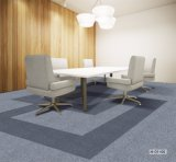 Newly Design PP Carpet Tiles/Nylon Carpet Tiles/PVC Backing/Antifouling Carpet Tiles/Office Carpet for Commercial Use Solution Dyed Carpet
