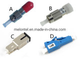 Mt-1033 FC/Sc/St/LC/Mu Singlemode Multimode Male to Female Fix Fiber Optic Attenuator