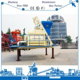 Concrete Mixing Plant Use Electric Js1000 Automatic Twin Spiral Belt Concrete Mixer 50-60m3/H