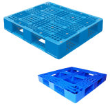 """1200X1200 (48""""X48"""") Wholesale Stackable and Rackable Storage Used Plastic Pallets"""