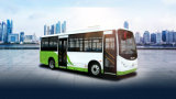 Pure Electric City Bus with 250km Driving Range