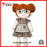 En71 Custom Made Cartoon Girls Baby Stuffed Toy Plush Rag Doll