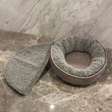 Luxury Pet Bed for Winter Design Cat Bed Cat Dog House with Removable Cover