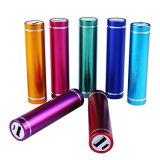 2018 Aluminum 18650 USB Battery Portable Power Bank 2600mAh for Christmas Gift