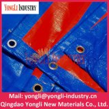 Wholesale Multifunction Durable Blue Orange PE Laminated Tarpaulin