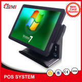 Hot Selling Inter J1900 POS Machine with 15 Inch Dual Screen for Wide Used 0099s