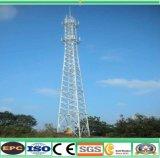 Mobile Integrated Base Station TV Broadcasting Steel Galvanized Communicationtowers