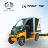 Electric Passenger Carrier with Cargo Box