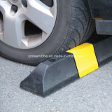 Black with Yellow Rubber Parking Stopper Wheel Stop