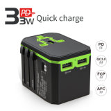 Promotional Gift 33W Pd Quick Charger Smart Plug USB Charger Gifts Item Universal Travel Adapter