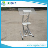 New Design Speech Portable Acrylic Podium for Wholesale