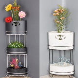 Creative Corner Metal Flower Pot