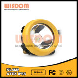 Wisdom Atex Mining Industrial Headlamp Kl4ms, LED Cap Lamp