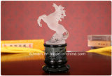 Elegant Crystal Animal Figurine Horse Craft for Gift