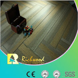 12.3mm E0 HDF AC4 Crystal Hickory Sound Absorbing Laminated Flooring