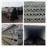 Hot Rolled U Shaped S355jr Steel Sheet Pile for Construction