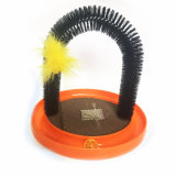 Stable Cat Massage Arch Cat Brush Scratcher Cat Grooming Arch