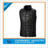 Best Lightweight Black Filled Down Vest for Men