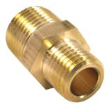 Brass Hex Compression Connector Brass Pipe Fitting Gas Pipe Fittings