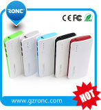 6000mAh Quick Mobile Power Bank with LED Light
