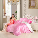 Home Textile Polyester Satin Silk Bedding