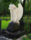 Stone Headstone Granite Monument Russia Style with Custom Design