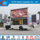P6 P8 P10 Full Color Display Screen LED Adevertising Truck