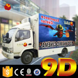 Mobile 9d Cinema 3 Dof 5D Truck Cinema 7D Cinema 9d Simulator Factory Price, Movie Power Mobile Truck 5D Cinema 7D Cinema 9d Theater Movies for Free
