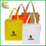Zipperd Colorful Branded Logo Non Woven Promotion Shopping Bag