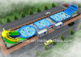 11X55m Inflatable Water Game Design as Per Actual Area